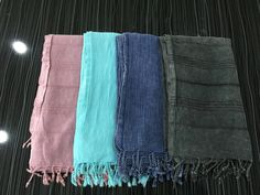 Stone Washed, Denim Look Turkish Peshtemal Towels https://fabricdome.com/products/turkish-peshtemal-towel-stone-washed-vintage-look-50-pcs