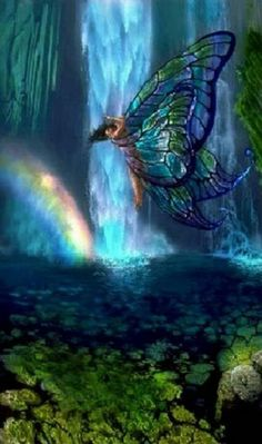 I love Angels & Fairies, beautiful and mystical creatures Fairy Dust, Fairy Land, Fairy Tales, 3d Fantasy, Fantasy World, Magical Creatures, Fantasy Creatures, Kobold, Fairy Pictures