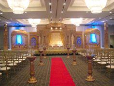 indian wedding mandap classy indian wedding #royal #mandap Events Designed By: Sushma Patel