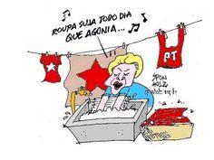 Melhores charges sátiras piadas desenhos caricaturas posts anticomunistas e anti corrupção