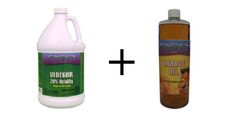 Vinegar Weed Killer - The Seasoned Homemaker This lady knows what she's talking about. You must have the right vinegar and orange oil. Many of the Pinterest boards are wrong about just reg. vinegar.