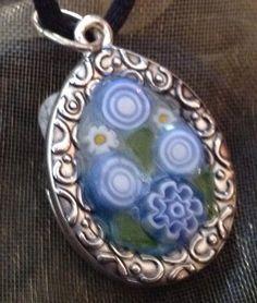 A pretty necklace made from Italian Millefiori.