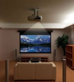 hd projector for the Den