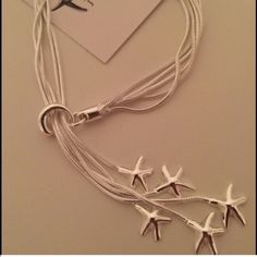 Sterling Silver Five Starfish Deluxe Bracelet Gorgeous Sterling Silver Five Starfish Deluxe Bracelet. The bracelet is finished with a lobster clasp. KSAR Jewels Jewelry Bracelets