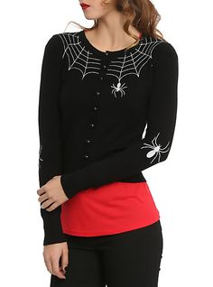 Hell Bunny Spider Cardigan | Hot Topic