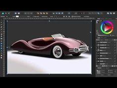 Affinity Designer Tutorial Buick Streamliner  #affinitydesigner #macaffinity #illustration #design #vector #tutorial #tutorials #howto #videotutorial #realistic #realism #luxurycars #buick #streamliner #vectorart