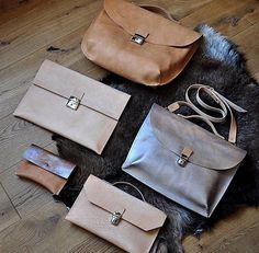 Leather Series by @burtsevbags