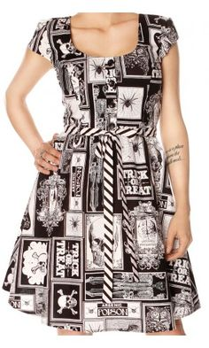 FOLTER HERE COMES HALLOWEEN DRESS