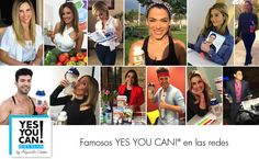 Celebridades Yes You Can! se mantienen fit y en movimiento