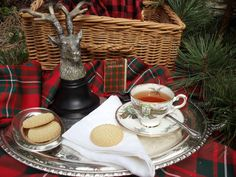 Upstairs Downstairs: A Highland Tea