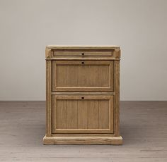 Library System 2-Drawer File Cabinet with Tray