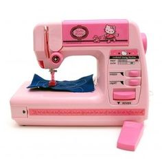 What's up with a Hello Kitty sewing machine? I mean, this thing is real right? Kids young enough to be Hello Kitty fans don't sew. Hello Kitty Kitchen, Hello Kitty House, Hello Kitty Items, Toy Cars For Kids, Toys For Girls, Kids Toys, Little Girl Toys, Little Girls, Baby Girl Toys