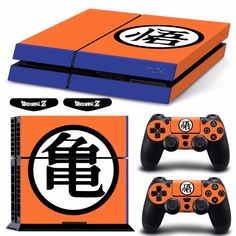 Limited Edition Glossy Vinyl Practical Skin Ps4 Pro Dragonball Goku Ultra Instinct