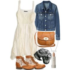 A fashion look from March 2014 featuring American Eagle Outfitters dresses, Acne Studios jackets and Steve Madden ankle booties. Browse and shop related looks.