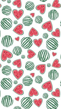 Background for summer. Sliced fruit, red heart of watermelon. Fits for t-shirt print design, bag, textile. Cute Wallpapers, Wallpaper Backgrounds, Iphone Wallpaper, Watermelon Wallpaper, Watermelon Background, Walpapers Iphone, Watermelon Illustration, Watermelon Art, Watermelon Carving