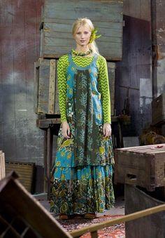 Gudrun Sjödén - The Queen of ethnic eco-fashion
