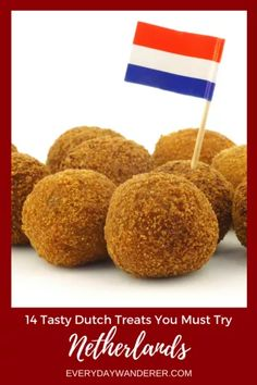 From savory to sweet there are so many delicious Dutch foods to try when you visit the Netherlands. Try Dutch treats like bitterballen, frites, and stroopwafels! Netherlands Food, Amsterdam Netherlands, Amsterdam Food, Amsterdam Travel, Tapas, Drinking Around The World, Chocolate Cheese, Best Places To Eat, Treat Yourself
