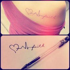 Love, life, faith. - really neat I want this !!