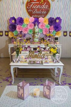 Rapunzel / Tangled Birthday Party Ideas | Photo 1 of 18