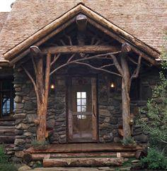 unpolished life: Rustic & cozy architecture
