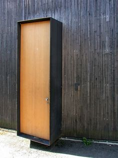 It's not accessible, but it's a beautiful floating door, courtesy of Atelier Zumthor, Peter Zumthor