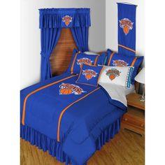 New York Knicks NBA Sidelines Bedding / Accessories Set