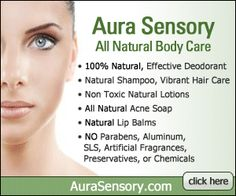Aura Sensory All Natural Body and Skin Care  I have the conditioner and I love it!!