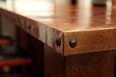 copper counter top