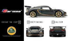 Carisma Reveals Specs and Pricing for the Lotus Exige V6 Cup R - RC Newb