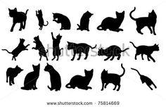 Cat Silhouette by MARSIL, via Shutterstock