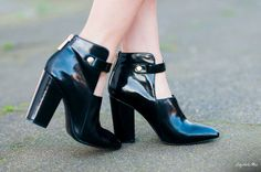 Tienlyn from @Say Hello Max  in the #ShoeCult Bossy Bootie  (http://www.nastygal.com/shoes/shoe-cult-bossy-bootie)