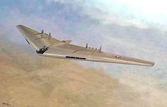 1947 ... YB-49 Flying Wing cold-war, aerospace
