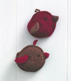 Sweet Treats Sachets Amigurumi ~ Free Pattern (stuffing piece with fiberfill and Lavender)