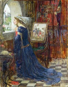 Fair Rosamund (1916). John William Waterhouse