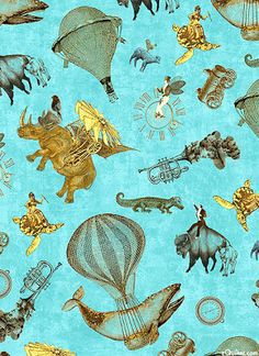 Erika's Chiquis: Steampunk Quilts