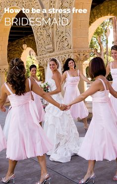 How to be a stress free Bridesmaid. Michal Caplan of Bridal Balance shares her invaluable advice in a one on one interview on annaborgia.com blog