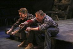 Jonah Platt and Mark Whitten star in the LA MIRADA THEATRE FOR THE PERFORMING ARTS production of FLOYD COLLINS, directed by Richard Israel ....