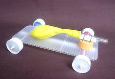 Balloon Car Toy Craft | Preschool Education for Kids