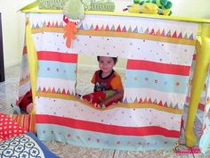 Playhouse under the table