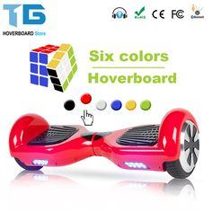 Electric Skateboard Hoverboard Self Balancing Scooter two 6.5 inch Wheel with Led Bluetooth Speaker 6.5 inch hover board //Price: $86.72//     #gadgets