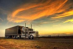 kenworth W900L and trailer # 18