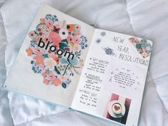 New Year's Resolution Page