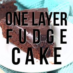 Fudge Cake - Rich, delectable and perfect when you don't need to feed a crowd! Layer Fudge Cake - Rich, delectable and perfect when you don't need to feed a crowd! Fudge Cake - Rich, delectable and perfect when you don't need to feed a crowd! Perfect Chocolate Cake, Chocolate Fudge Cake, Homemade Chocolate, Chocolate Desserts, Chocolate Tarts, Decadent Chocolate, Chocolate Truffles, Baking Recipes, Cake Recipes