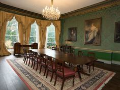 Dining room in the Shelbourne hotel in Dublin, built in Dublin Hotels, Ireland Hotels, Haunted Hotel, Most Haunted, Hotels And Resorts, Best Hotels, Shelbourne Hotel, Cafe Seating, Renaissance Hotel
