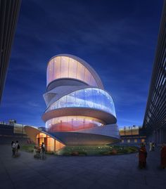 A Contemporary Buddhism Temple | Miliy Design | Archinect