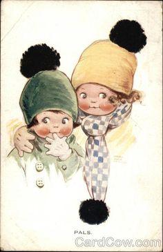 Pals Mabel Lucie Attwell Children