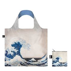 d99ccb410cfc LOQI – Reusable Bag – Museum Collection – Hokusay - The Great wave Reusable Tote  Bags. BALTIC Shop