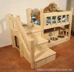 a castle for dogs.