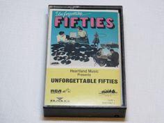 Unforgettable Fifties Tape 1 One DVK2-0867-1 RARE Cassette Tape Heartland music