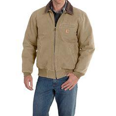 04de1745de2 Carhartt Bankston Sandstone Duck Jacket (For Big and Tall Men) Mens Light  Jacket,